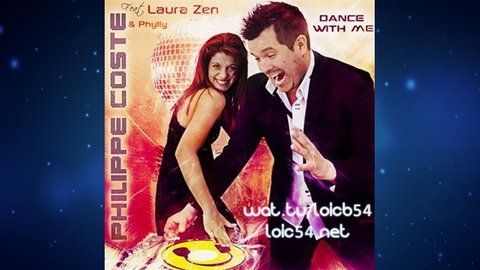 Philippe Coste Feat. Laura Zen & Phylly - Dance with me (English Extended Mix) (UK - Version Anglaise)