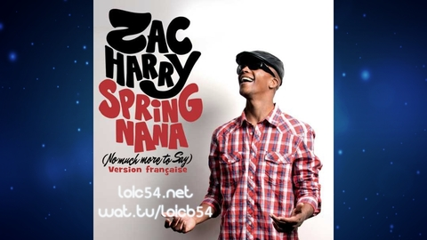 Zac Harry - Spring Nana (No Much More To Say) (Version Française Extended) (New French Extended)